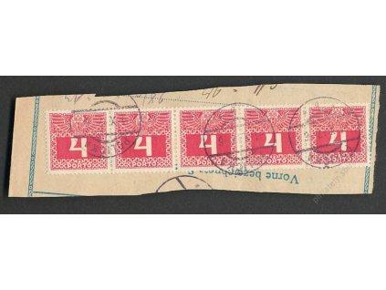 1917, 4+4+4+4+4H doplatní, DR POLIČKA