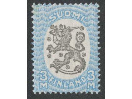 1917, 3M Znak, MiNr.91Aa, * po nálepce