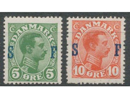 1917, 5-10Q Militärpostmarken, * po nálepce