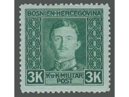 1917, 3K Karel, MiNr.139A, * po nálepce