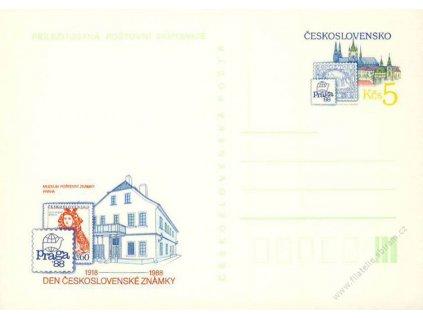 CDV 218 Den Československé známky
