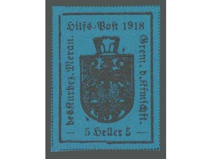 1918, Meran, 5H Znak, MiNr.5, (*)