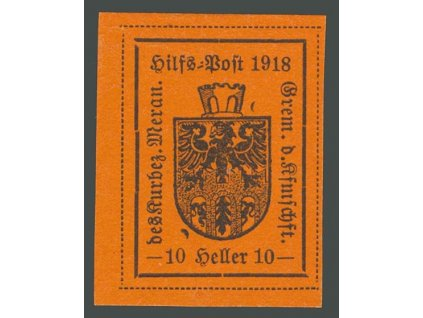 1918, Meran, 10H Znak, MiNr.6, (*)