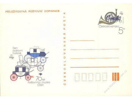CDV 219 Den poštovní historie