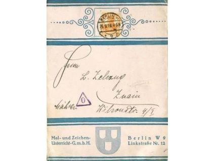 1919, tiskopis, DR Berlin, dekorativní kousek