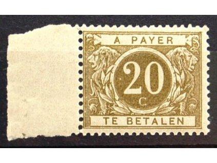 1919, 20C doplatní, kraj. kus, **