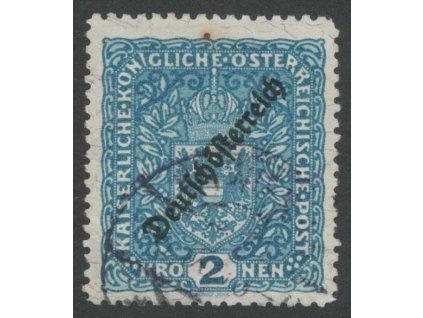 1919, 2Kr Znak, L 11 1/2, Mi.120Eur, razítko, horší jakost