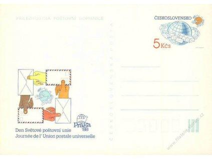 CDV 220 Den světové poštovní unie