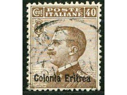 Eritrea, 1908, 40C Emanuel, MiNr.36, razítkované