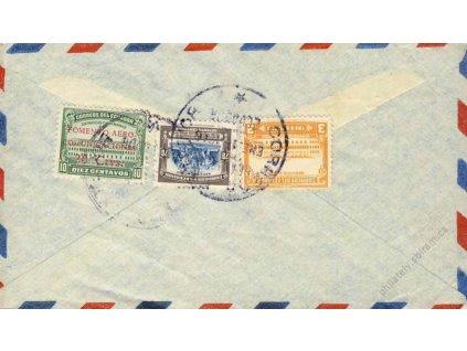 Ecuador, 1946, DR Guayaquil, let. dopis do ČSR