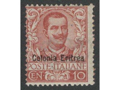 Eritrea, 1903, 10C Emanuel, * těžká * , kz