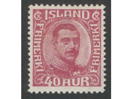 1920, 40A Christian, MiNr.94, * po nálepce