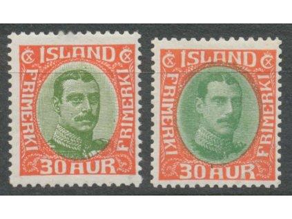 1920/31, 30A Christian, dvě vydání, * po nálepce