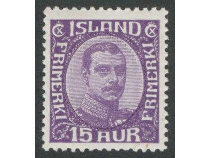 1920, 15A Christian, MiNr.90, * po nálepce
