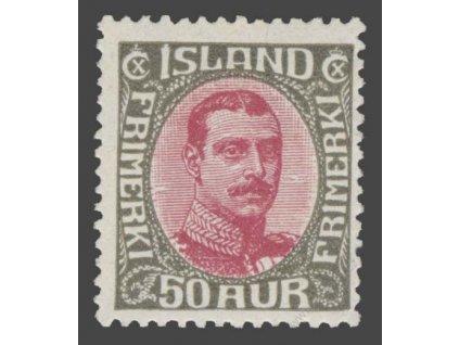 1920, 50A Christian, MiNr.95, kvalita * po nálepce