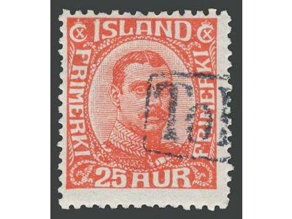 1921, 25A Christian, MiNr.102, razítkované, původní lep