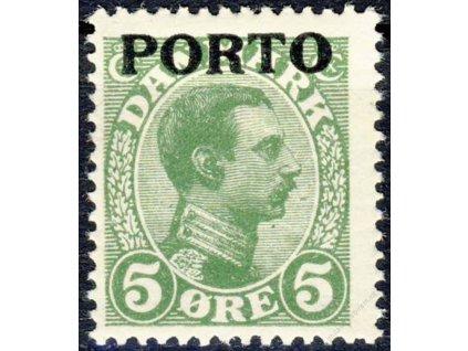1921, 5Q doplatní, MiNr.2, * po nálepce