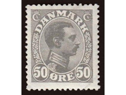 1921, 50Q Christian, MiNr.126, těžší *