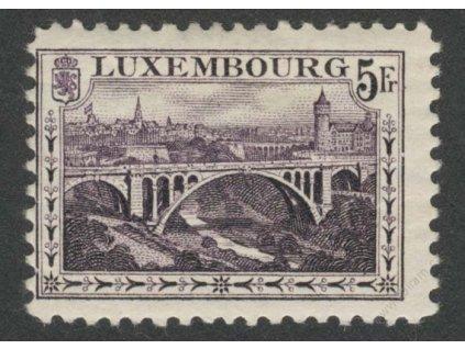1921, 5Fr Most, *  po nálepce, lehký lom