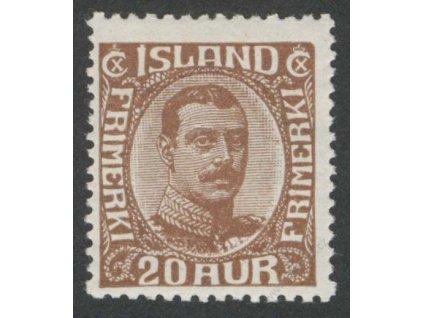 1921, 20A Christian, MiNr.101, * po nálepce