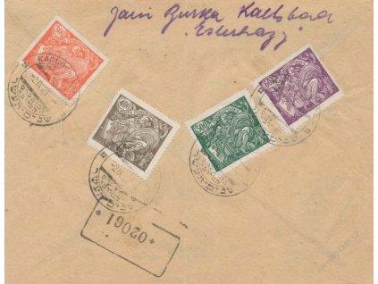1921, Karlovy Vary, Kongres Sionistický , R-dopis