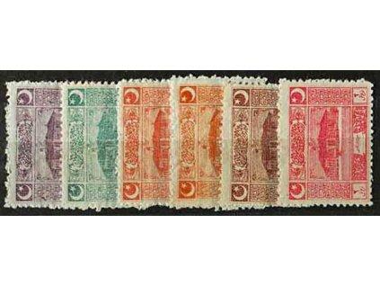 1922, 5Pa-3Pia série, MiNr.787-92, * po nálepce