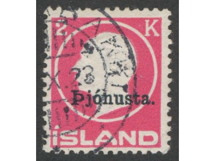 1922, 2Kr služební, MiNr.41I, razítkované