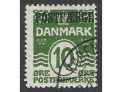 1922, 10Q Paketmarken, MiNr.5, razítkované