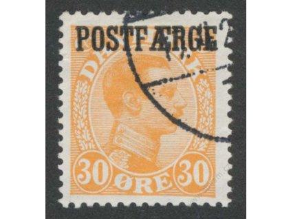 1922, 30Q Paketmarken, MiNr.6, razítkované