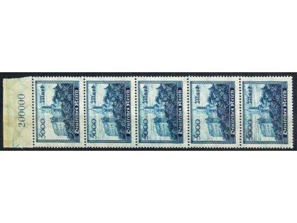 1923, 5000M Wartburg, různá štrafování, **