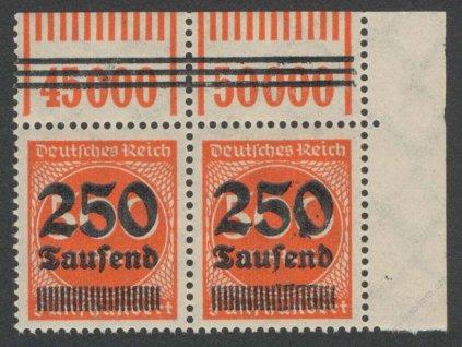 1923, 250Tsd/500M (Breslau, München), ** , * okraj
