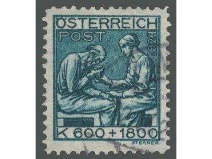1924, 600Kr Dětem, MiNr.445, razítkované