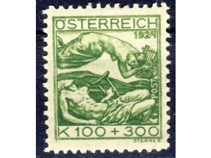 1924, 100Kr Tuberkuloza, MiNr.442, **