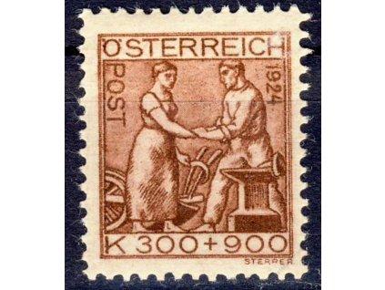 1924, 300K Tuberkuloza, MiNr.443, **