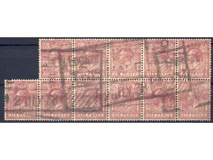 1924, 6P Jiří V., 11blok, MiNr.162, razítkované