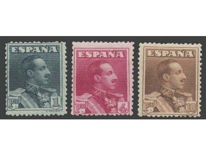 1924, 1-10Pta série Alfons, Mi.350Eur, **