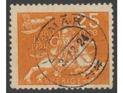 1924, 25Ö UPU, MiNr.163W, razítkované