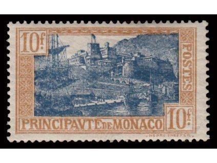1925, 10Fr Přístav, MiNr.103, * po nálepce