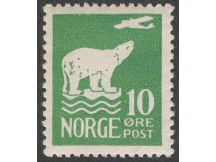 1925, 10Q Medvěd, MiNr.112, **