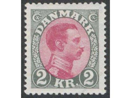 1925, 2Kr Christian, MiNr.150, * po nálepce
