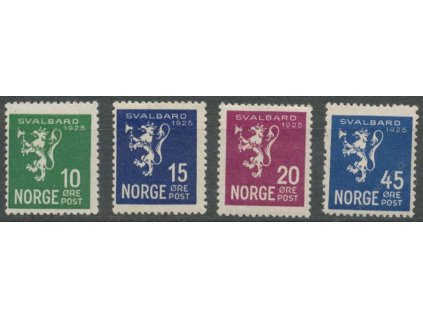 1925, 10-45Q série SVALBARD 1925, **
