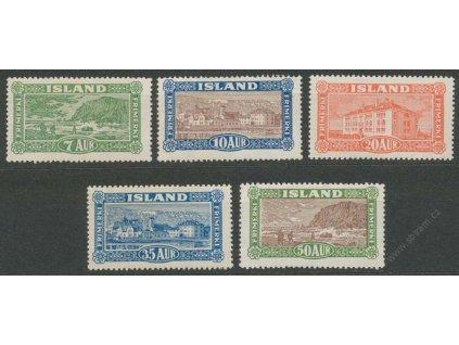 1925, 7-50A série Výjevy, MiNr.114-18, */**