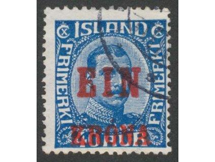 1926, 1Kr/40A Christian, MiNr.121, razítkované