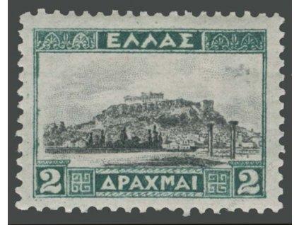 1927, 2Dr Akropole, MiNr.312, těžší *