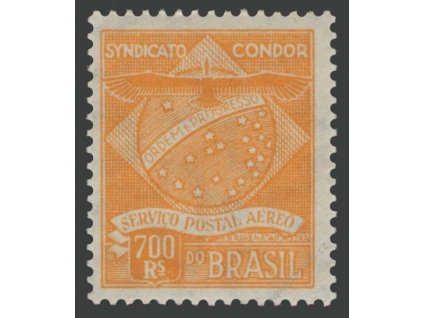 Brasílie, Syndicato Condor, 1927, 700R MiNr.C2, **