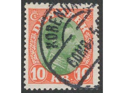 1927, 10Kr Christian, MiNr.176, razítkované