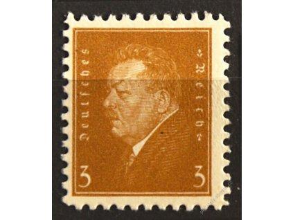 1928, 3Pf Ebert, privátní, karton, * po nálepce