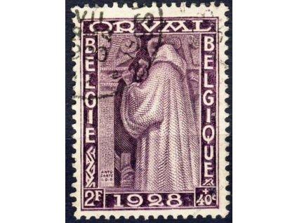 1928, 2Fr Orval, MiNr.240, razítkované