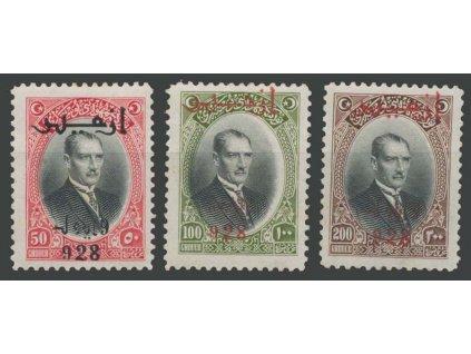 1928, 50, 100 a 200Ghr koncové hodnoty, * po nálepce