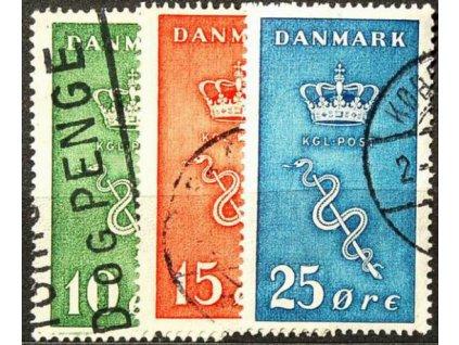 1929, 10-25Q série, razítkované